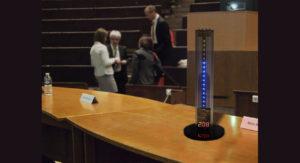 minuteur de conférences , minuteur de nion brasilia sablier chronometre conférence alainpers minuterie timer meeting gestion du temps de parole,
